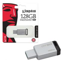 Pen Drive Kingston 128gb Datatraveler 50 Usb 3.1/3.0/2.0 -