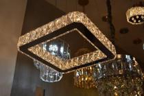 Pendente Cristal Legitimo Transparente + Lâmpada(29037/350) - Dubai