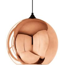 Pendente Globo 33 cm Bronze - Mart