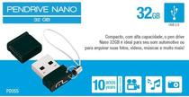 Pendrive 32gb Preto Pd055 - 135 - multilaser