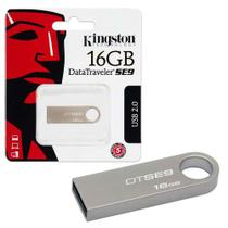 Pendrive Kingston 16GB SE9 Prata