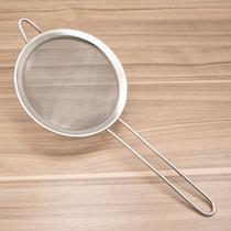Peneira de Inox 16cm Prata - Lumina -