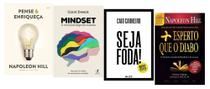 Pense e Enriqueça + Mindset + Seja Foda! + Mais Esperto que o diabo - Várias Editoras