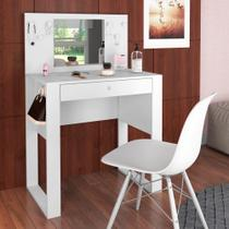 Penteadeira 1 Gaveta Com Espelho Pluma PE900 Art in Móveis -