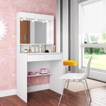 Penteadeira Com Espelho e Iluminação Super Star PE700 Art in Móveis -