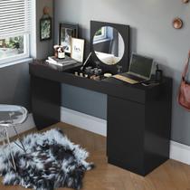 Penteadeira e Escrivaninha 1 Porta Crystal Belaflex -