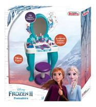 Penteadeira Infantil Frozen 2 Com Lindos Acessórios - Rosita -