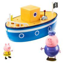 Peppa - barco do vovô pig - sunny brinquedos -