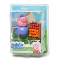 Peppa com Acessorio - Vovo PIG Flores do Jardim SUNNY 2312 -