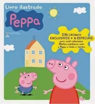 Peppa Pig - Album e livro ilustrado com 252 figurinhas completo  - Online -