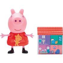 Peppa Pig Boneca com Acessorio - Peppa Pig DTC -