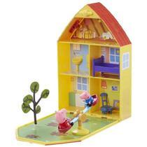 Peppa Pig Casa com Jardim Dtc - 4206 -