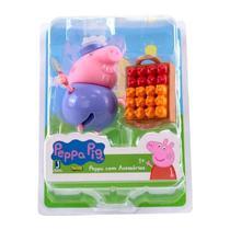 Peppa Pig com Acessórios Vovô Jardineiro - Sunny -