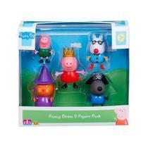 Peppa Pig conjunto com 5 bonecos - Dtc -4200 -
