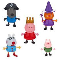 Peppa Pig - Conjunto com 5 bonecos - DTC -
