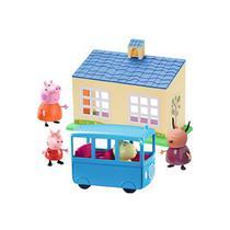 Peppa Pig - Escolinha e Ônibus Escolar - Dtc