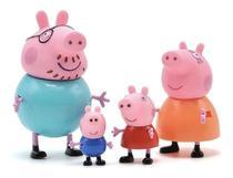 Peppa Pig Familia Peppa 4 bonecos articulados- Sunny -