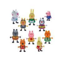 Peppa PIG Fantasia 10 Figuras DTC 4859 -