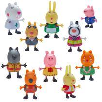 Peppa Pig Fantasia 10 Figuras - DTC -