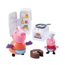 Peppa Pig - Hora de Comer Cozinha - DTC -