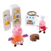 Peppa Pig Hora De Comer - Cozinha - DTC -