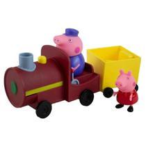 Peppa Pig Vovô Maquinista Com Trenzinho - Sunny 2306 -