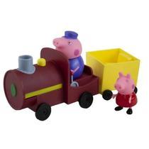 Peppa Pig Vovô Maquinista com Trenzinho Sunny -