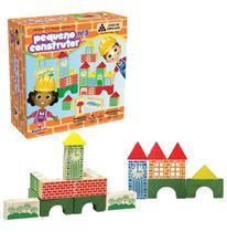 Pequeno Construtor 100 Peças Ciabrink Brinquedos 1374 -