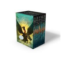 Percy jackson and the olympians box set (1-5) - Disney Press - H -