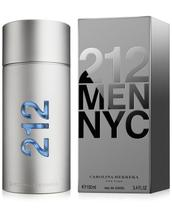 Perfume 212 Men NYC Eau de Toilette Carolina Herrera Original 100ml ou 200ml
