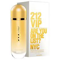 Perfume 212 VIP Feminino Carolina Eau de Parfum 125ml - Carolina herrera