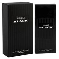 Perfume Animale Black For Men Eau de Toilette Masculino 50 ml -