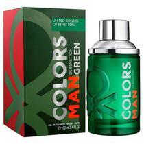 Perfume Benetton Colors Man Green Eau de Toilette Masculino 100ML - United colors of benetton