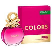 Perfume Benetton United Colors Pink 80 Ml Feminino EDT -