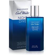 Perfume cool water night dive masculino eau de toilet 125ml davidoff