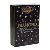 Perfume cuba diamond edp masculino 100ml original -