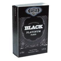 Perfume Cuba Individual Black Platinum Deo Parfum 100ml -