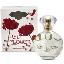 Perfume cuba red flower edp feminino 100ml original