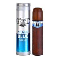 Perfume Cuba Silver Blue 100ml -
