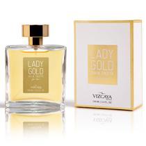 Perfume Feminino Vizcaya Lady Gold Eau de Toilette - 100ml -