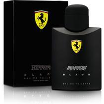 Perfume ferrari black masculino eau de toilette 125ml ferrari -