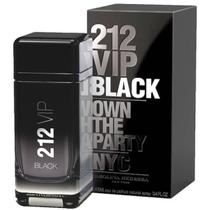 Perfume Masculino 212 Vip Black Carolina Herrera 100ml