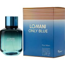 Perfume Masculino Lomani Only Blue Lomani Eau De Toilette Spray 100 Ml -