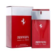 Perfume Masculino Man In Red Ferrari Eau de Toilette 100ml