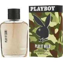 Perfume Masculino Playboy Play It Wild Playboy Eau De Toilette Spray 100 Ml -