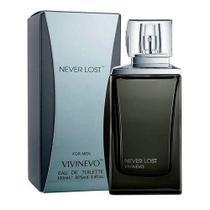 Perfume Masculino Vivinevo Never Lost Black Eau de Toilette 100ml -