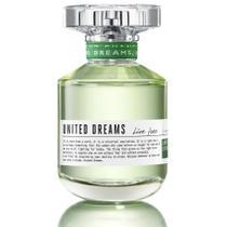 Perfume United Dreams Live Free Feminino Benetton EDT 80ml -