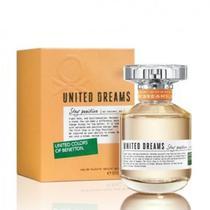 Perfume United Dreams Stay Positive 80ml Edt Feminino Benetton -