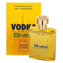 Perfume Vodka Brasil Amarelo 100 Ml Paris Elysees Original
