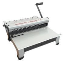 Perfuradora e Encadernadora Duplamatic Conjugada - Passo: 2x1 - Quadrado - Lassane
